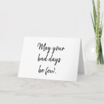 Funny Cancer Get Well Card