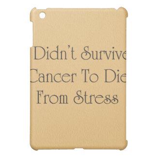 Funny Cancer Survivor Ipad Case