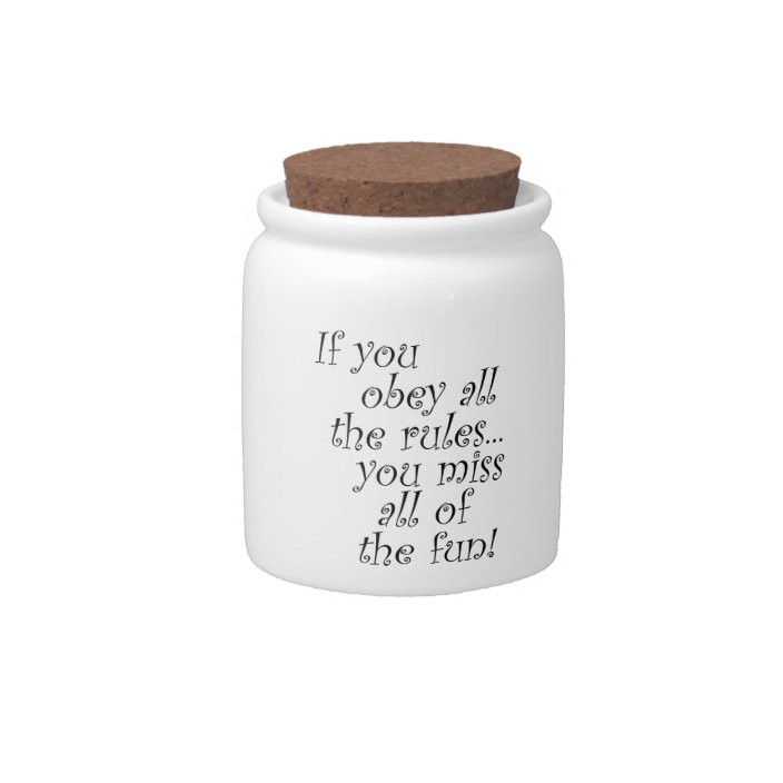 Funny Candy Jar Unique Gift Ideas Quotes Gifts Zazzle Com