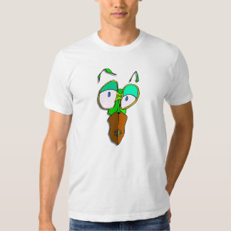 Funny Cannibal Insect cartoon character white eyes Tee Shirt