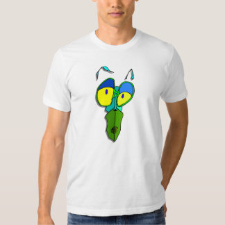 Funny Cannibal Insect cartoon yellow eyes T-shirt