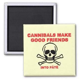 Funny cannibals fridge magnets