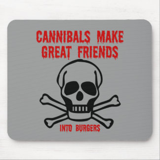 Funny cannibals mouse pad