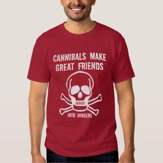Funny cannibals t shirt