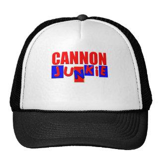 Funny cannon trucker hat