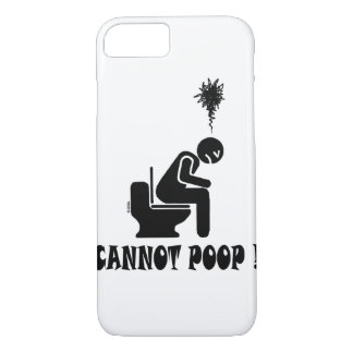 Funny cannot poop! iPhone 8/7 case