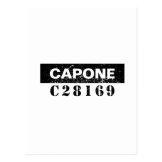 Funny Capone Postcard