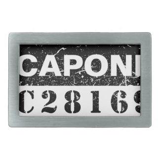 Funny Capone Rectangular Belt Buckle