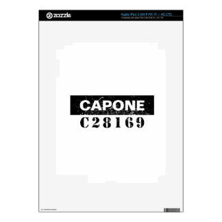 Funny Capone Skin For iPad 3