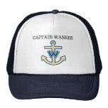 "Funny ""Captain Wanker"" Trucker Hat"