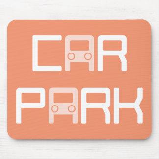 """Funny """"Car Park"""" Puzzle Mousepad"""