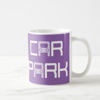 """Funny """"Car Park"""" Puzzle Mug"""