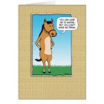 Funny card: Margarita Horse