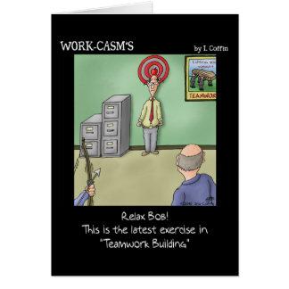 Funny Card: Teamwork Card