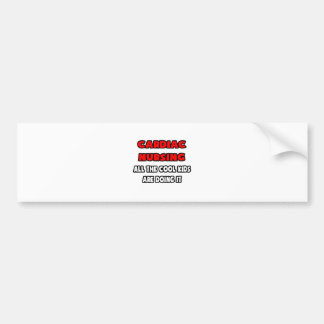 Funny Cardiac Nurse Shirts and Gifts Bumper Stickers
