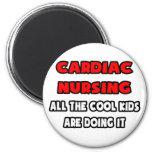 Funny Cardiac Nurse Shirts and Gifts Fridge Magnet