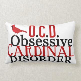 Funny Cardinal Lumbar Pillow
