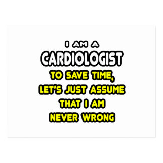 Funny Cardiologist T-Shirts and Gifts Postcard