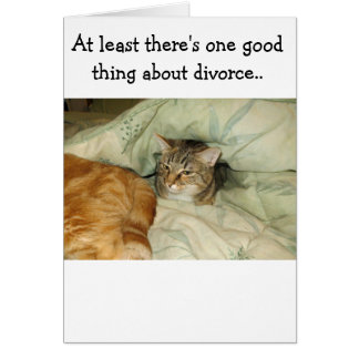 Funny cards for divorce