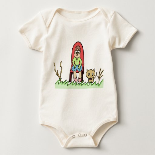 "funny ""carton"" baby's t-shirt"