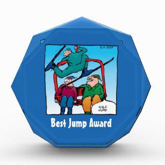 Funny Cartoon Best Jump Award