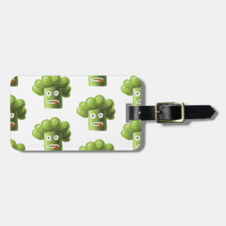 Funny Cartoon Broccoli Pattern Personalized Tags For Bags