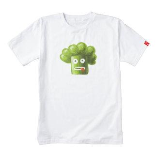 Funny Cartoon Broccoli Zazzle HEART T-Shirt