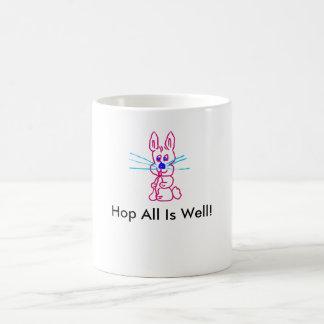 Funny Cartoon Bunny Mug