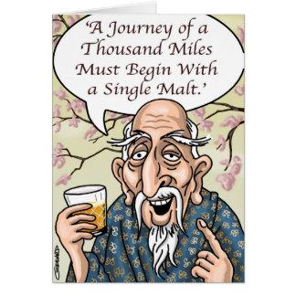 Funny Cartoon Card by Clive Goddard