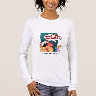 Funny Cartoon Cartoon Cat | Zazzle Pro-Seller Long Sleeve T-Shirt