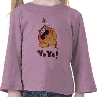 Funny Cartoon Cat Tee | Cute Cartoon Cat Tshirt