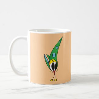 Funny Cartoon Character Mug | Add Your Name