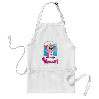 Funny Cartoon Chef Apron| Funny Pig Chef Apron