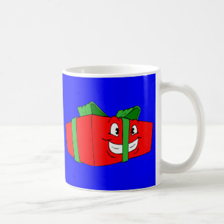 Funny Cartoon Christmas Present Gift Coffee Mug