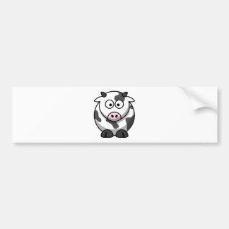 Funny Cartoon Cow Bumper Stickers
