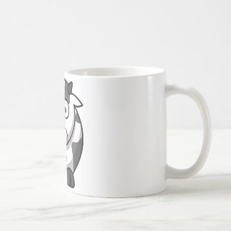 Funny Cartoon Cow Coffee Mug