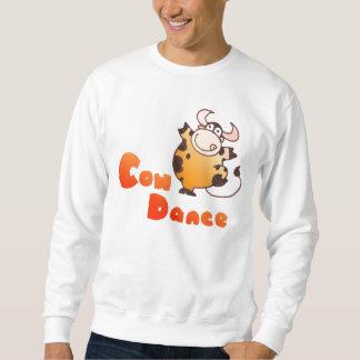 Funny Cartoon Cow Dancer TShirt|Cartoon Cow TShirt