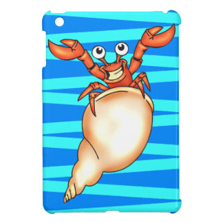 Funny Cartoon Crab iPad Mini Case