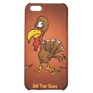 Funny Cartoon Derp Turkey iPhone 5 Case