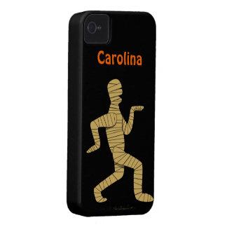 Funny Cartoon Egyptian Mummy Halloween Custom Case-Mate iPhone 4 Case