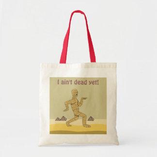 Funny Cartoon Egyptian Mummy Pyramids Custom Bags
