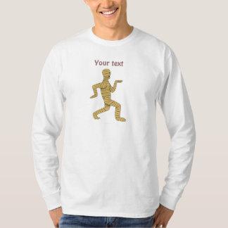 Funny Cartoon Egyptian Mummy Pyramids Custom T-Shirt