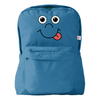Funny Cartoon face Backpack