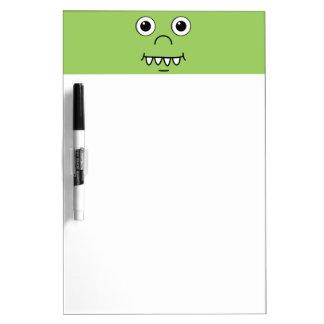 Funny Cartoon face Dry-Erase Boards