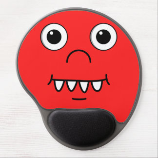 Funny Cartoon face Gel Mouse Pad