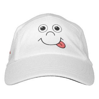 Funny Cartoon face Headsweats Hat