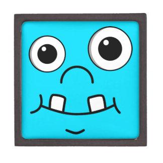 Funny Cartoon face Jewelry Box