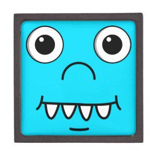 Funny Cartoon face Keepsake Box
