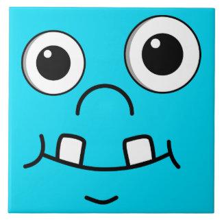 Funny Cartoon face Tile