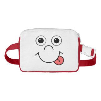 Funny Cartoon face Waist Bag